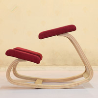 HOT Original Ergonomic Kneeling Chair Stool Home Office Furniture Ergonomic Rocking Wooden Kneel Computer Posture Chair Design