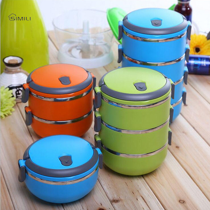 buy 304 stainless steel bowls lunch box multilayer japanese bento dinnerware. Black Bedroom Furniture Sets. Home Design Ideas