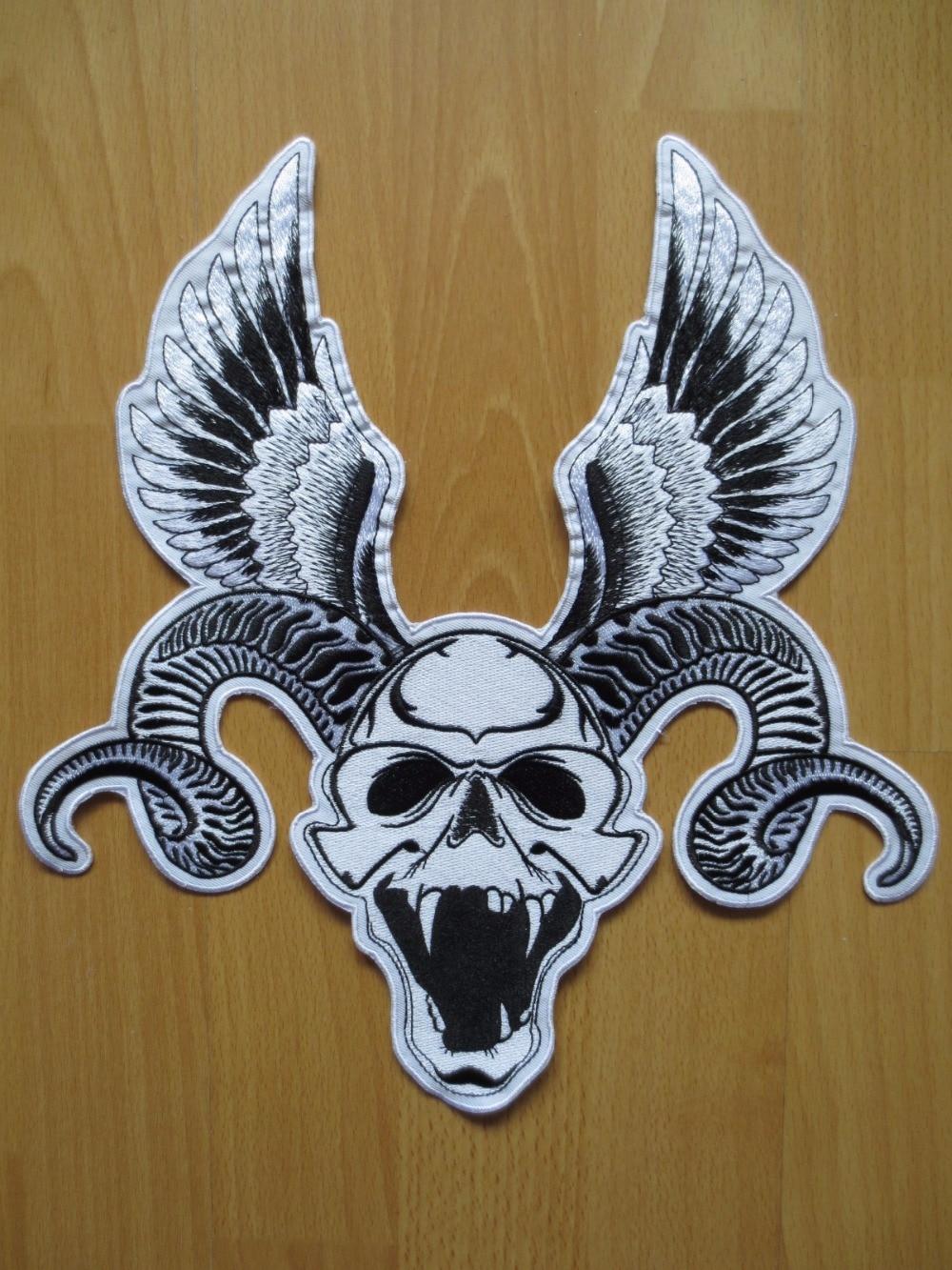 უზარმაზარი RAM Skull ერთად Wings 12 - ხელოვნება, რეწვა და კერვა