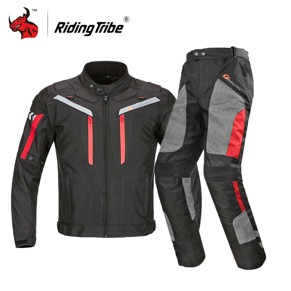 Riding Tribe Motorcycle Jacket Men Waterproof Moto Jacket Motocross Clothing Motorcycle Full Body Protective Gear Black Suit цена