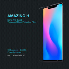 For Xiaomi mi 8 se Tempered Glass Amazing H Tempered Glass Screen Protector Film Nano-Coated Tempered Film For Xiaomi mi 8 se asling tempered glass screen film for xiaomi mi 8