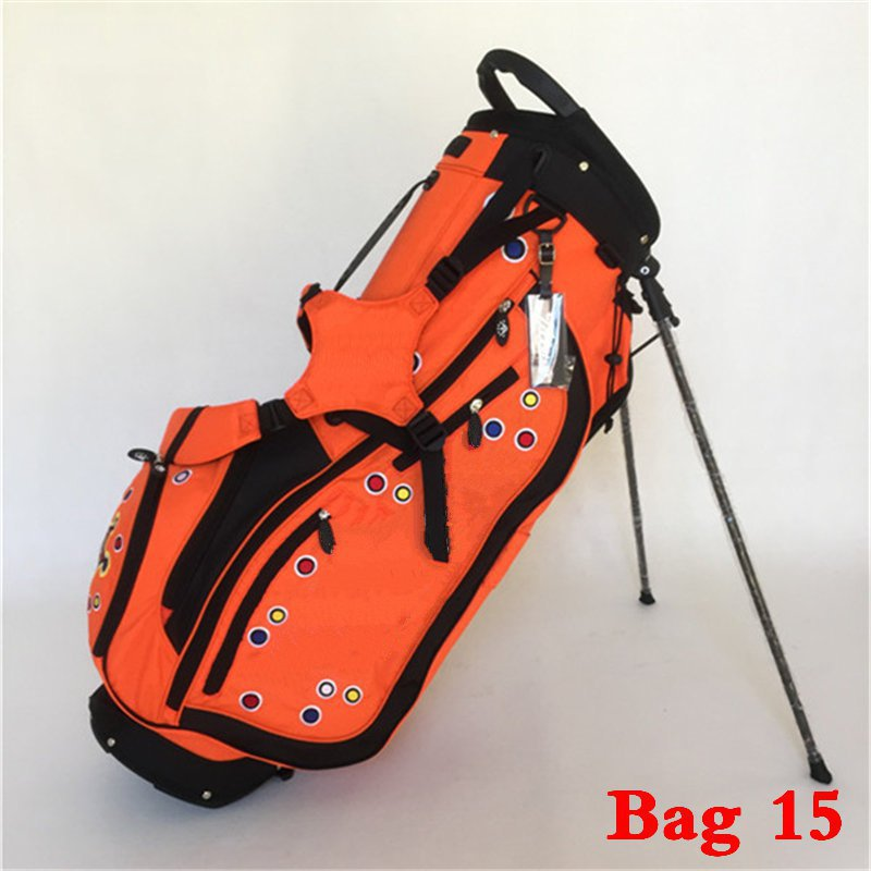 Johnny Jackpot Black Design Staff Cart Golf Bag White Male Standard Ball Package Aviation Professional Rack Travel In Bags From Sports