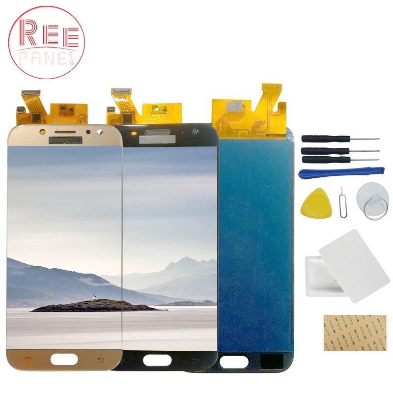 AAA + Qualité OLED LCD pour samsung Galaxy J5 2017 J530 écran LCD numériseur à écran tactile Pour Galaxy J5 2017 Affichage J530 LCD