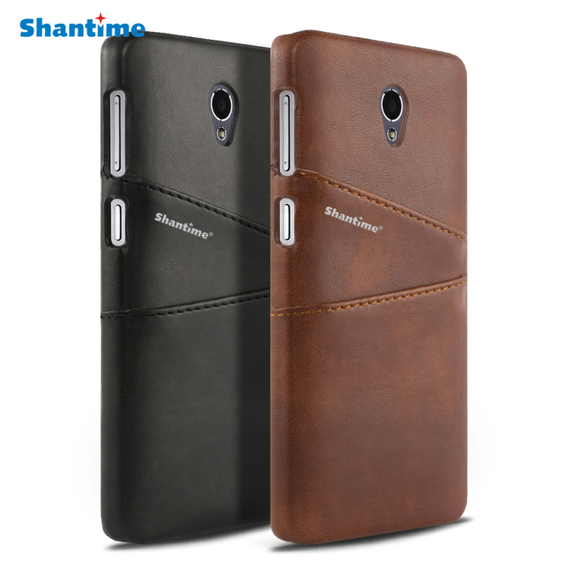 Luxury Pu Leather Wallet Case For Lenovo S860 Phone Bag Case For Lenovo Vibe P1 Cover For Lenovo ZUK Z1 Business Card Slots Case