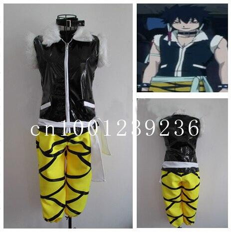 Fairy Tail Oracion Seis Dark Night Cosplay Costume