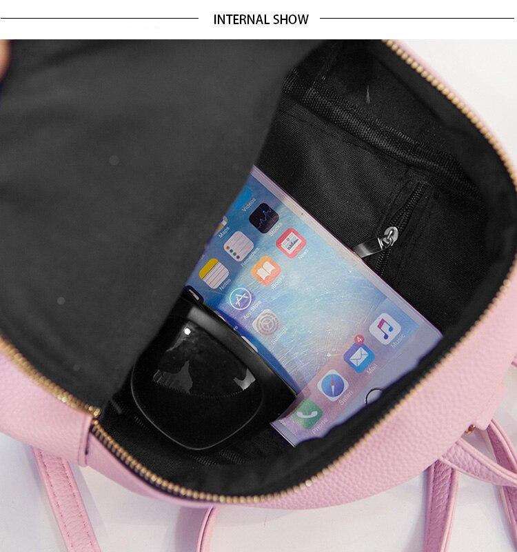 LEFTSIDE Skórzane Damskie 2017 Plecak plecak dla dzieci mini