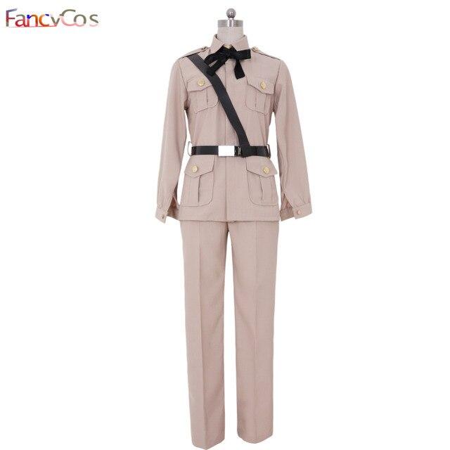 Halloween Axis Powers Spain Uniform Antonio Fernandez Carriedo Hetalia Cosplay  Costume Adult Deluxe Custom Made Anime
