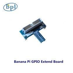 Prostokąt Banana Pi GPIO karta rozszerzenia rozszerzenia adaptera IO rozszerzenie płyta rozwinąć moduł
