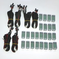 6 set 12V Interior LED Footwell Lights Cable For VW Golf Jetta MK5 MK6 Passat B6 Seat Leon Toledo Altea A5 A6 A7 A8 3AD 947 409