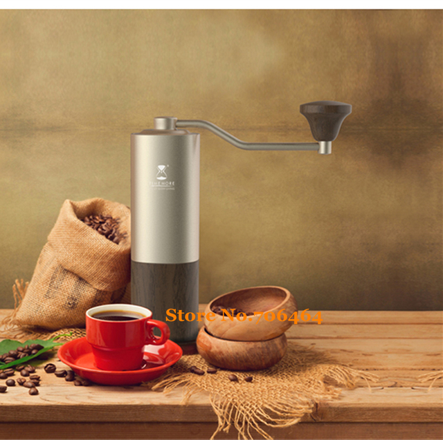 MYY47 Aerolite portable steel grinding core High quality handle design super manual coffee mill Dulex bearing