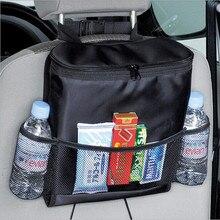 New Design Convenient Auto Car Seat Organizer Holder Multi-Pocket Travel Storage Bag Hanger Back Free Shipping