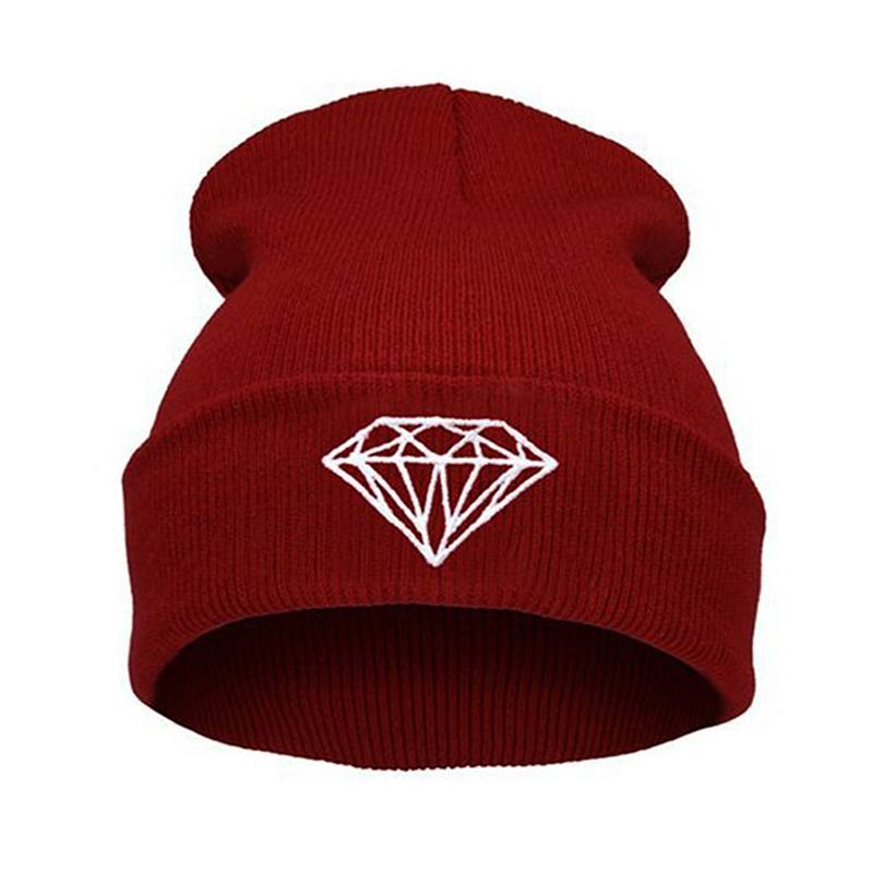 Hot Sale Personality Pattern hip-hop Hat , knitting wool Spring Autumn Winter Multi Colors Beanie hats For women and men rwby letter hot sale wool beanie female winter hat men