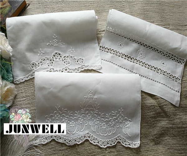 100% Linen traditional handmade drawn work Napkin Tea Towel Cutwork Dishtowel Kitchen Towel Cleaning Cloth Tea Towel