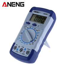 A830L LCD digital multimeter DC AC Voltage  Freguency Multimeter Capacitance OHM Transisto Current Eletronics Tester multi meter