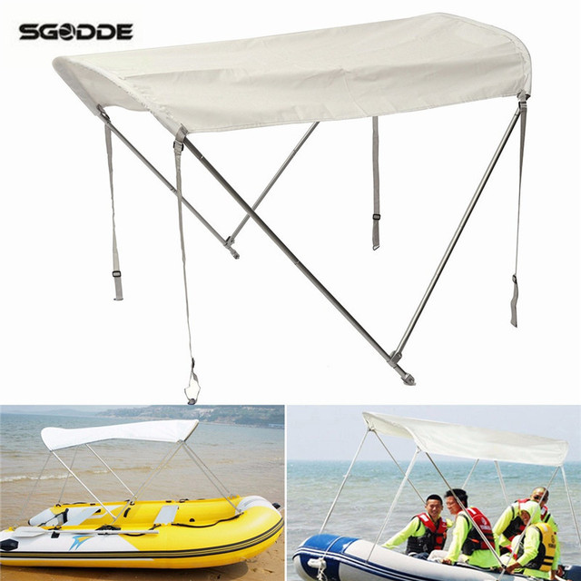 Inflatables Boat Sun Shelter Sailboat Awning Top Rowing Boats Cover Tent Sun Shade Rain Canopy Surfing  sc 1 st  AliExpress.com : boat sun canopy - memphite.com