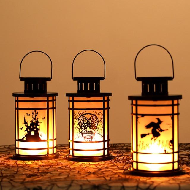 LED Lights Decor Simulation Flame Lamp Bar Kerosene Lamp Table Decorative Lights Indoor Baterie Christmas Decoration Party Suppy