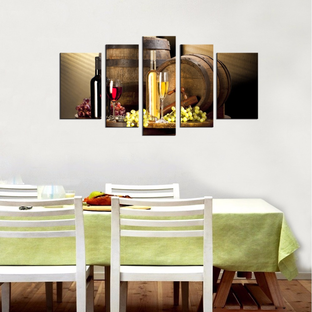 Wine Barrel Wall Decor online shop canvas prints red wine barrel and glass wall art