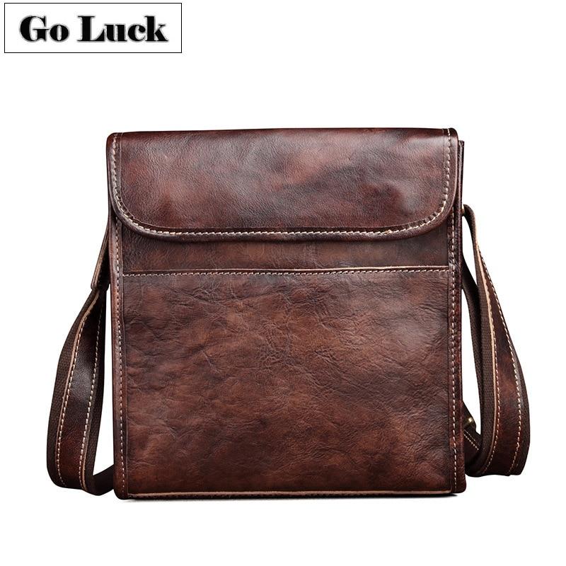 Nouveau sac à bandoulière en cuir véritable pour hommes sac à bandoulière pour hommes sac de voyage pour hommes en cuir de vachette décontracté et d'affaires Ipad