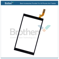 10pcs/lot High Quality Black Touch Screen Digitizer Panel For HTC Desire For HTC Desire 700 D700 Free Shipping