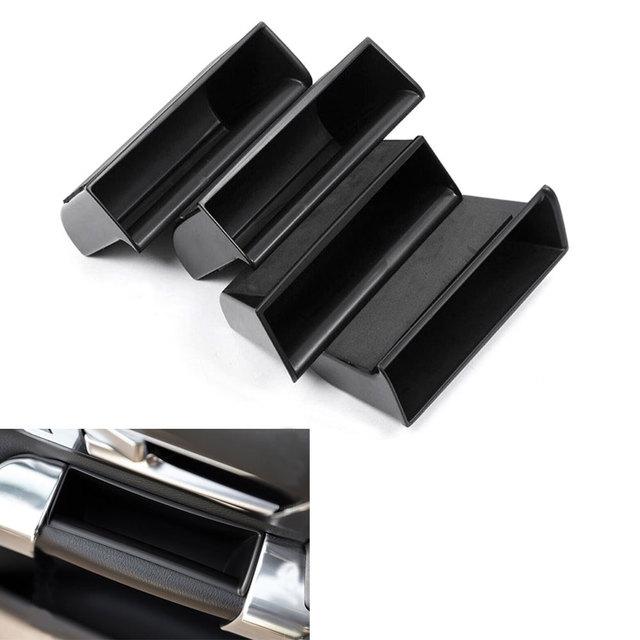 Caixa de Armazenamento de apoio de Braço Da Porta Lidar Com Tampa ABS Interior Bolso Para LR4 Discovery 4 2010-2015 Car Styling Acessórios Auto