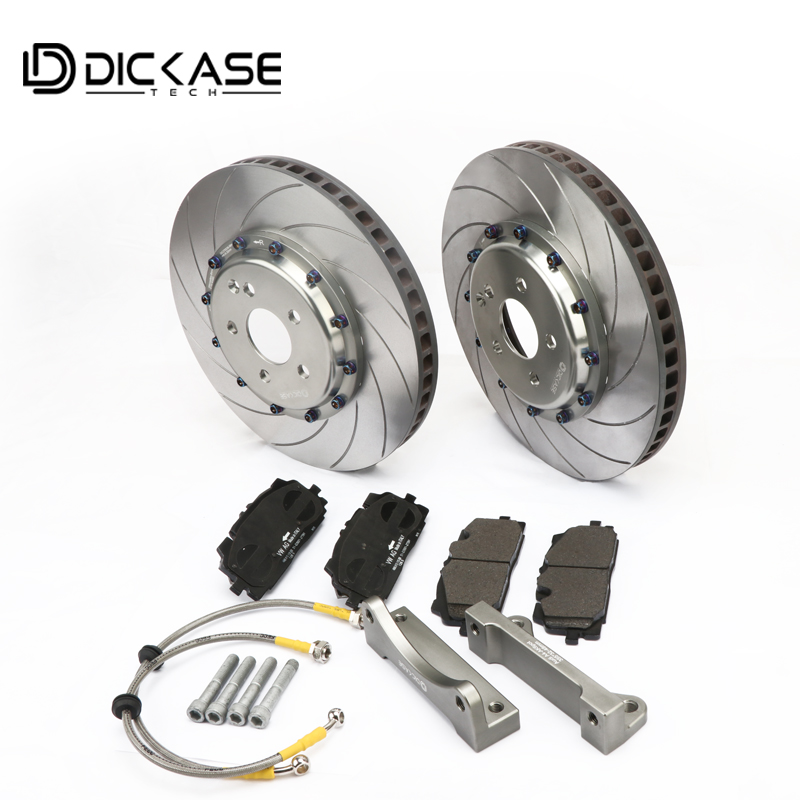 355mm Forged technology DICASE brake discs for Ap9040 Six Piston Red motorcycle brake caliper fit for Adui A4 Front(B5/B6/B7/B8)