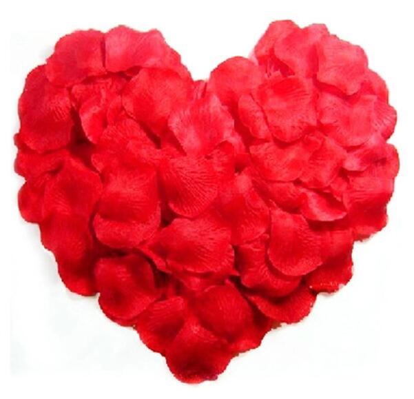 Wholesale Flowers For Weddings Events: Wholesale Wedding Rose Petals 200pcs/lot Decorations