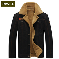 TAWILL Men S Jacket Jean Military Army Soldier Cotton Air Force One Male Brand Clothing Autumn