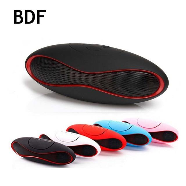 BDF X6 Mini Alto-falantes Portáteis Sem Fio Bluetooth Handsfree Speaker boom box Apoio TF Cartão Construído em MIC Receptor De Áudio USB
