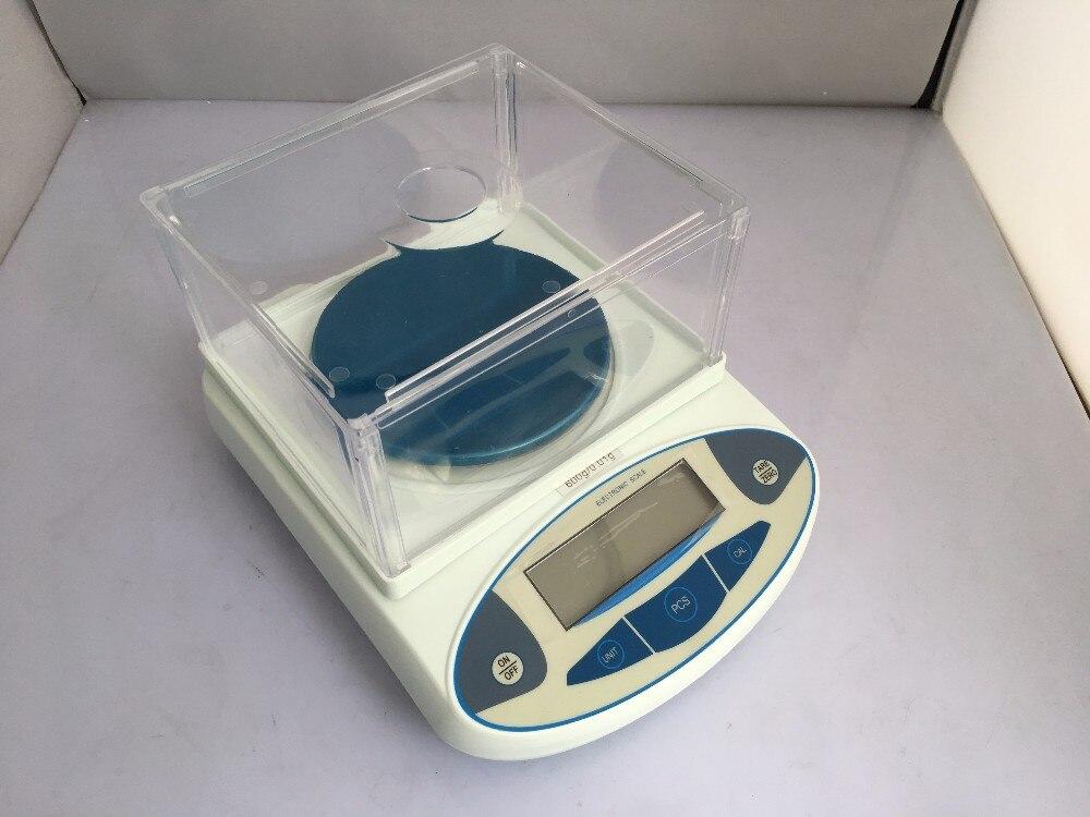 1000x0.01g Lab Balance numérique analytique bijoux électronique dit, avec capteur de poids d'affichage numérique