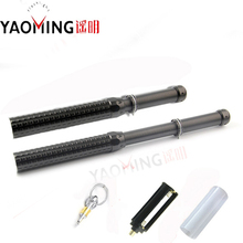 Cree xml Q5 3 mode adjustable baton 41cm self defense torch  2000 lumen flashlight lanterna by 18650/AAA flash light+keychain