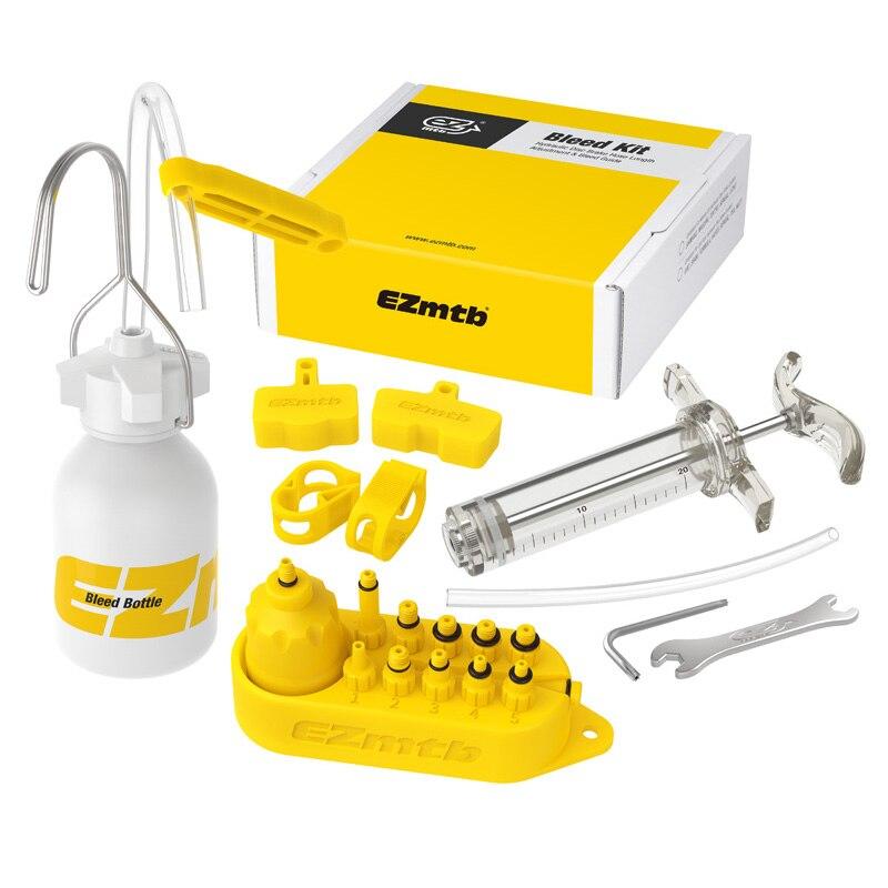Bicicleta de freno hidráulico sangrar Kit de herramientas para linea-Tektro de Margura y Series de sistema de freno de disco de uso de aceite Mineral de SW0018