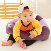 Child Safety Seats Infant Learning Sit Baby Support Soft Nursing Cotton Travel Home Sofa Wrap Pure