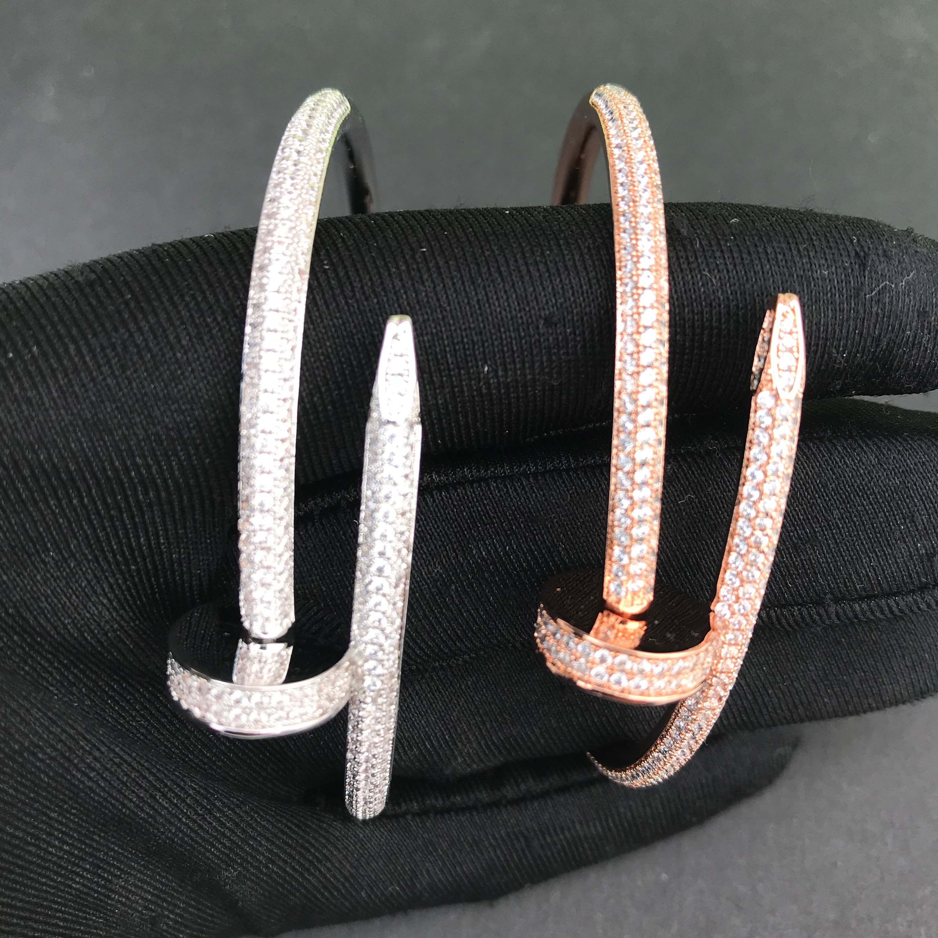 Image 4 - Wholesale jewelry iced out nail bracelet-in Chain Necklaces from Jewelry & Accessories