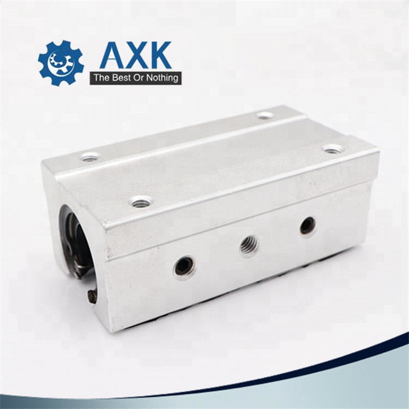 Image 2 - 2pcs/lot Free shipping SBR16LUU 16mm Linear Ball Bearing Block CNC Router-in Linear Guides from Home Improvement