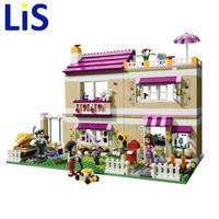 (Lis)10164 Friends Olivia's House building bricks blocks Toys for children Girl Game Castle Gift Decool 3315