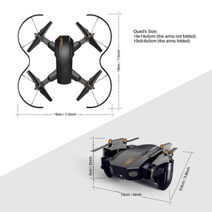 Image 5 - Folding drone Mini UAV WIFI aerial photography Fixed high Remote control Aircraft toys