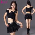 Bellydance Costume B.u.w Brand Modal 2016 New Hot Sale Women Belly Dance Costumes Top+skirt Suits For Oriental 9950