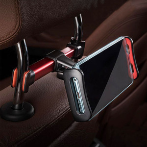 Image 2 - 2019 Auto Car Back Seat Holder Extendable and Rotatable Car Phone Holder Tablet Holder Stand Mount Support Automotive products