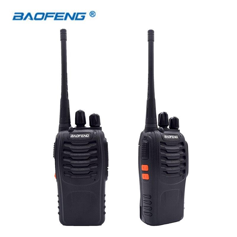 2 шт. рация Baofeng BF-888S 16CH UHF 400-470MHz Baofeng 888S Ham радио HF приемопередатчик Amador портативный