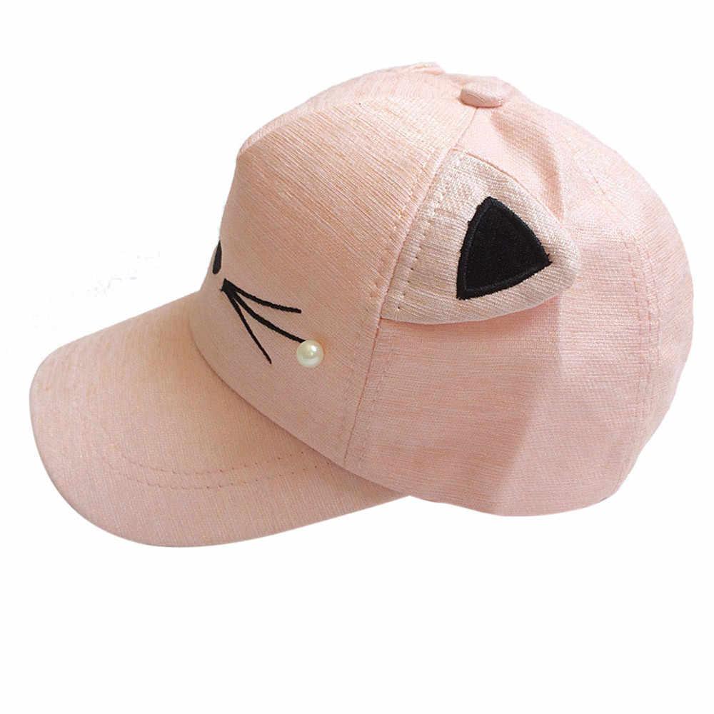 CHAMSGEND תינוק כובעי ילדי תינוק באני ארנב Visor בייסבול כובע כותנה כובע מצחיה dropship 2018 חמה Oct22 2018 חם חדש