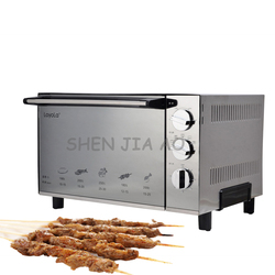 220V 1800W Stainless steel desktop electric oven 23L household small electric cake/pizza baking oven 1PC