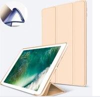 Smart Cover For Apple IPad Pro 10 5 Case PU Leather 3 Fold Nice Anti