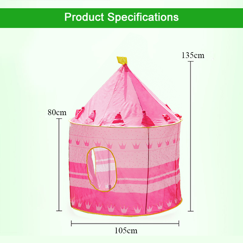 Girls Baby Tent For Kid Tipi Tent Castle Play Tent House Kids Furniture Play Toys Pool Tipi Wigwam For Kids Toys For Children #2