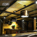 DSQ Retro Bar Chandelier Loft American Industrial Wind Steaming Light Creative Personality Nostalgic Restaurant Cafe Chandelier