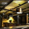 DSQ Retro Bar Chandelier Loft American Industrial Wind Steaming Light Creative Personality Nostalgic Restaurant Cafe Chandelier