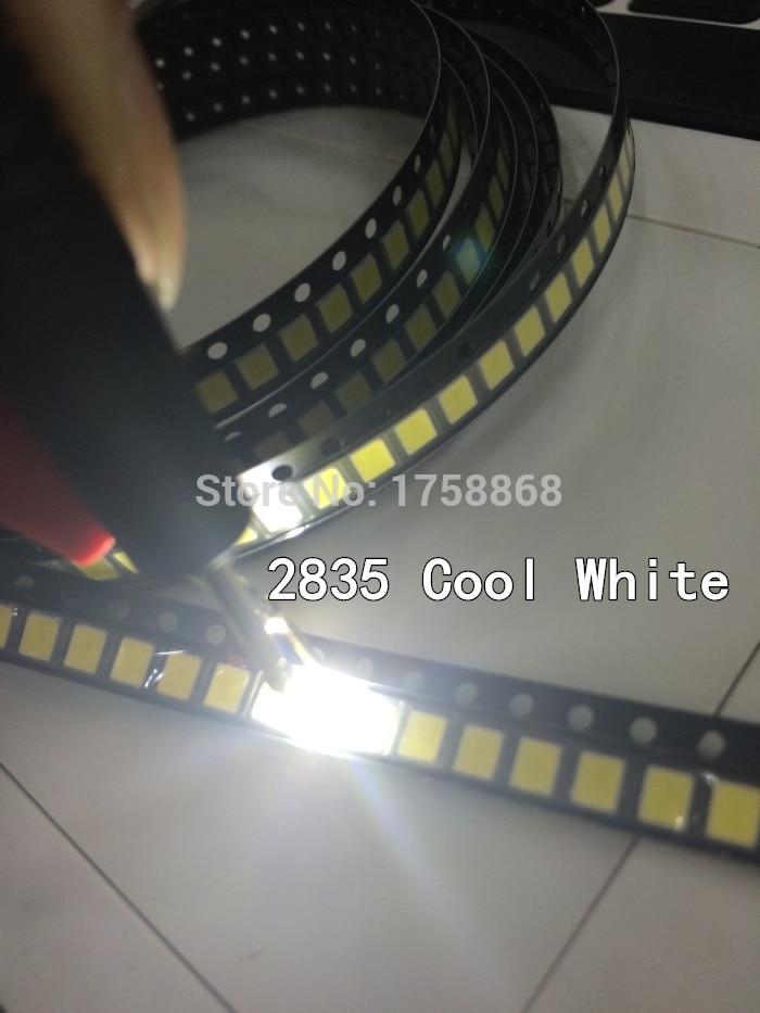 500Pcs 0805 SMD SMT Super Bright White LED Lamp Light RoHS