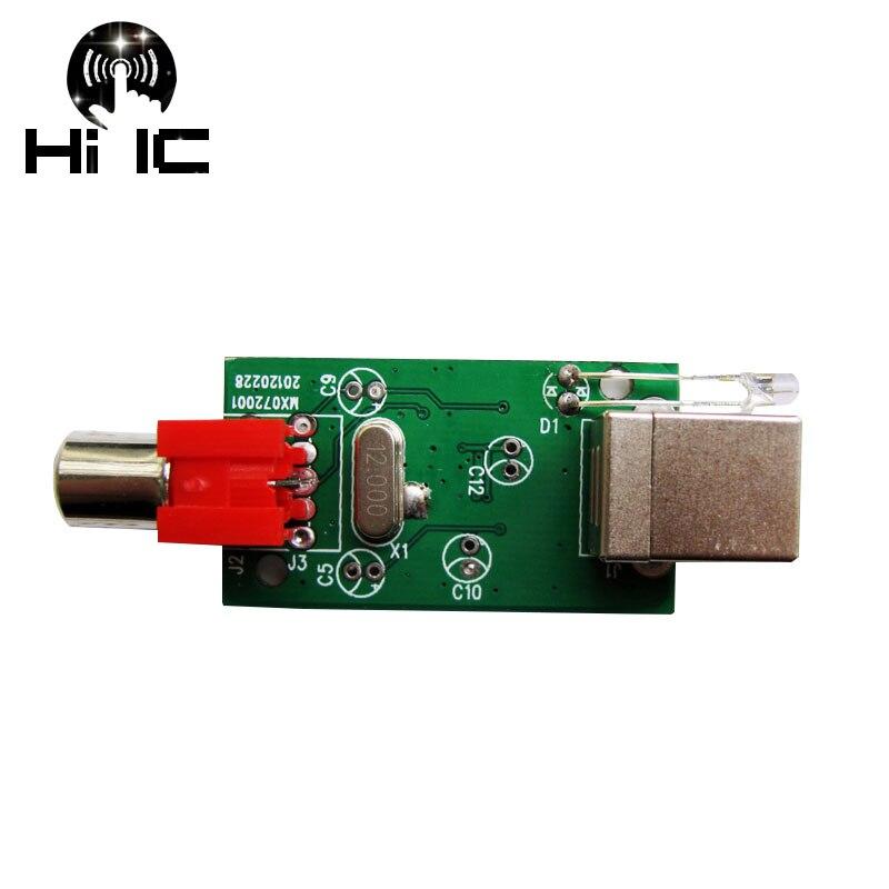 Hifi Pcm2704 Externe Audio Karte Usb Karte Usb Zu Spdif Digital Signal Rca Ausgang GroßEs Sortiment Unterhaltungselektronik Digital-analog-wandler