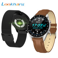Lookhans Full Touch Screen L7 Smart Bracelet Activity Tracker ECG Men IP68 Waterproof Sport Smartwatch Wristband For IOS Andriod