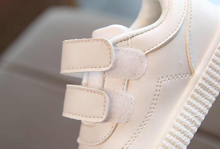 2018 kind casual schoenen lederen laarzen mannelijke vrouwelijke zachte zool schoenen baby sportschoenen kinderen peuter schoenen merk kids sneakers