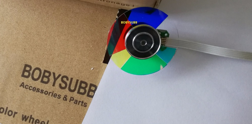 New For OPTOMA EP761 EX531 EX732 EX379 EX756 DLP Projector Color Wheel